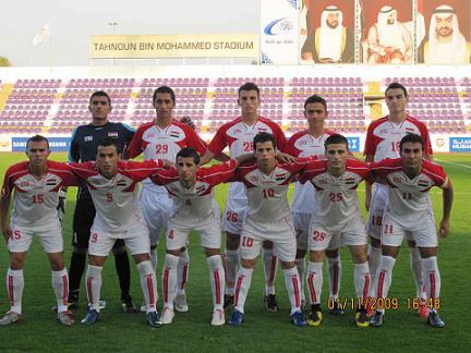 منتخبنا الشاب يخسر امام مصر ويتوجه للبحرين غداً.